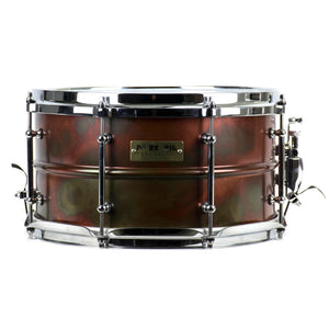 "Pork Pie 13x7"" Rub Brass Snare - Used"