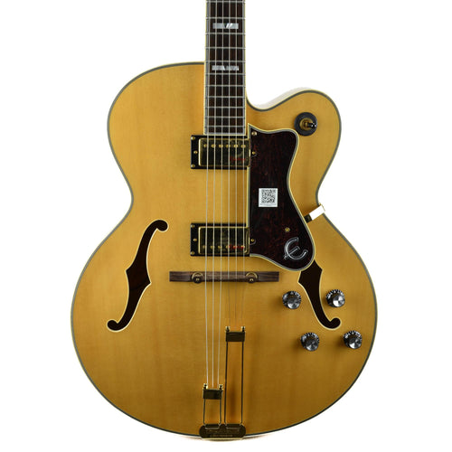 Epiphone Broadway - Natural - Maple Body - Gold Hardware - Used
