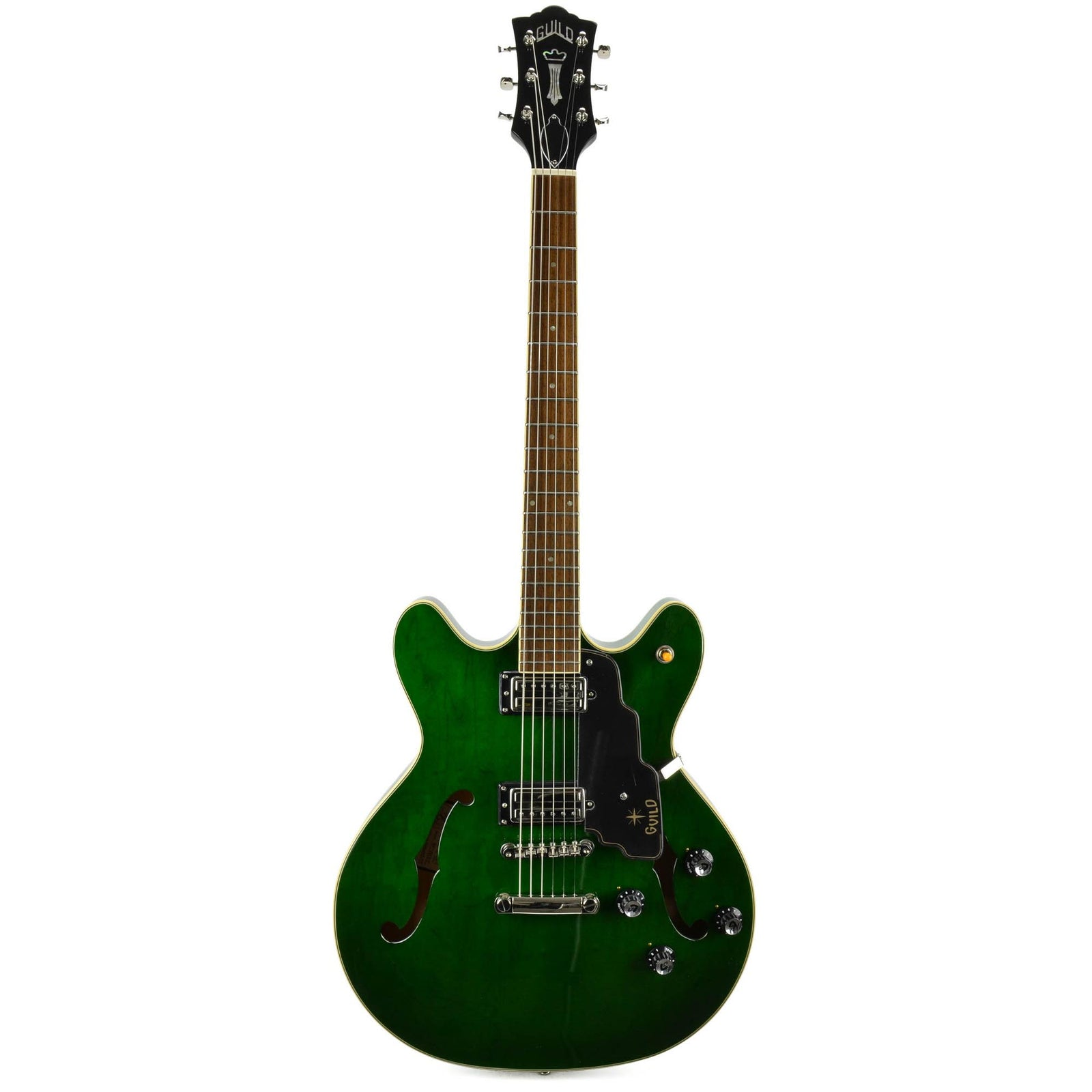 Guild Newark ST. Starfire IV ST - Maple - Emerald Green - Used