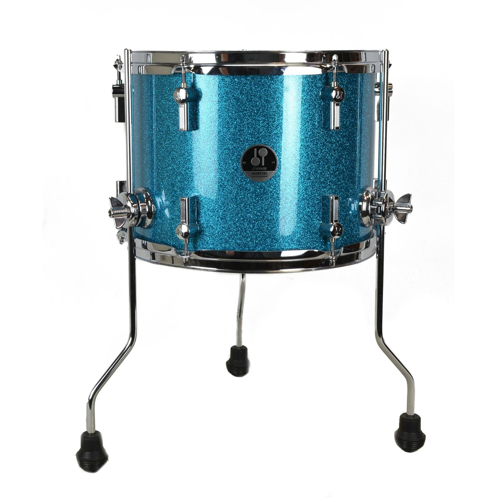 Sonor Martini Kit - Retro Turquoise Galaxy Sparkle With Silent Stroke - Used
