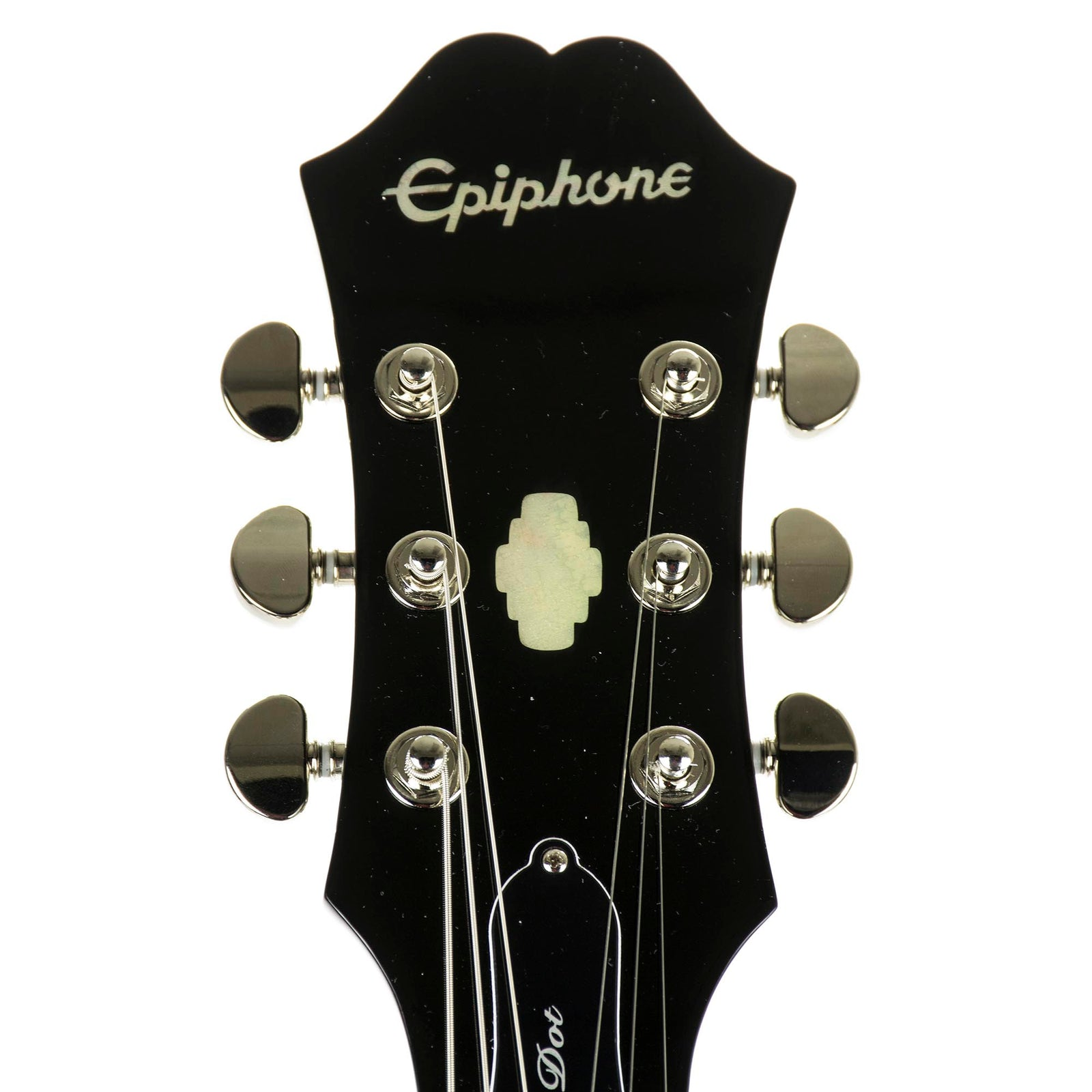 Epiphone Dot Ebony Chrome Hardware - Used