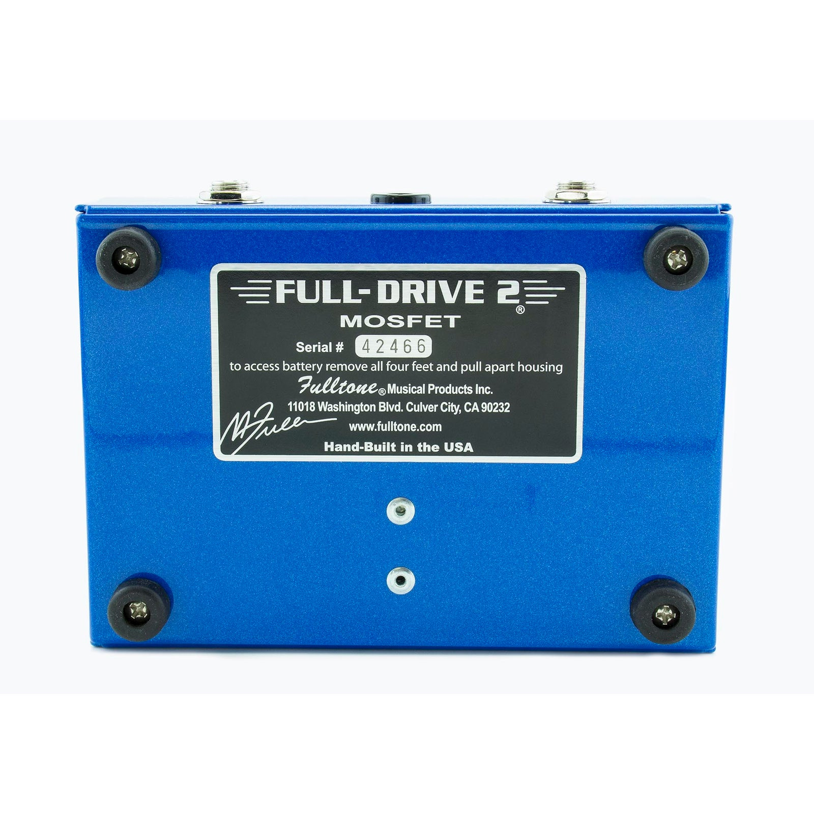 Fulltone Full Drive 2 Mosfet - Used | Russo Music