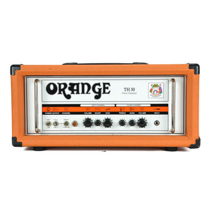 Orange TH30 Twin Channel Tube Head With Footswitch - Used