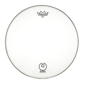 "Remo 16"" Coated Emperor With Russo Logo"