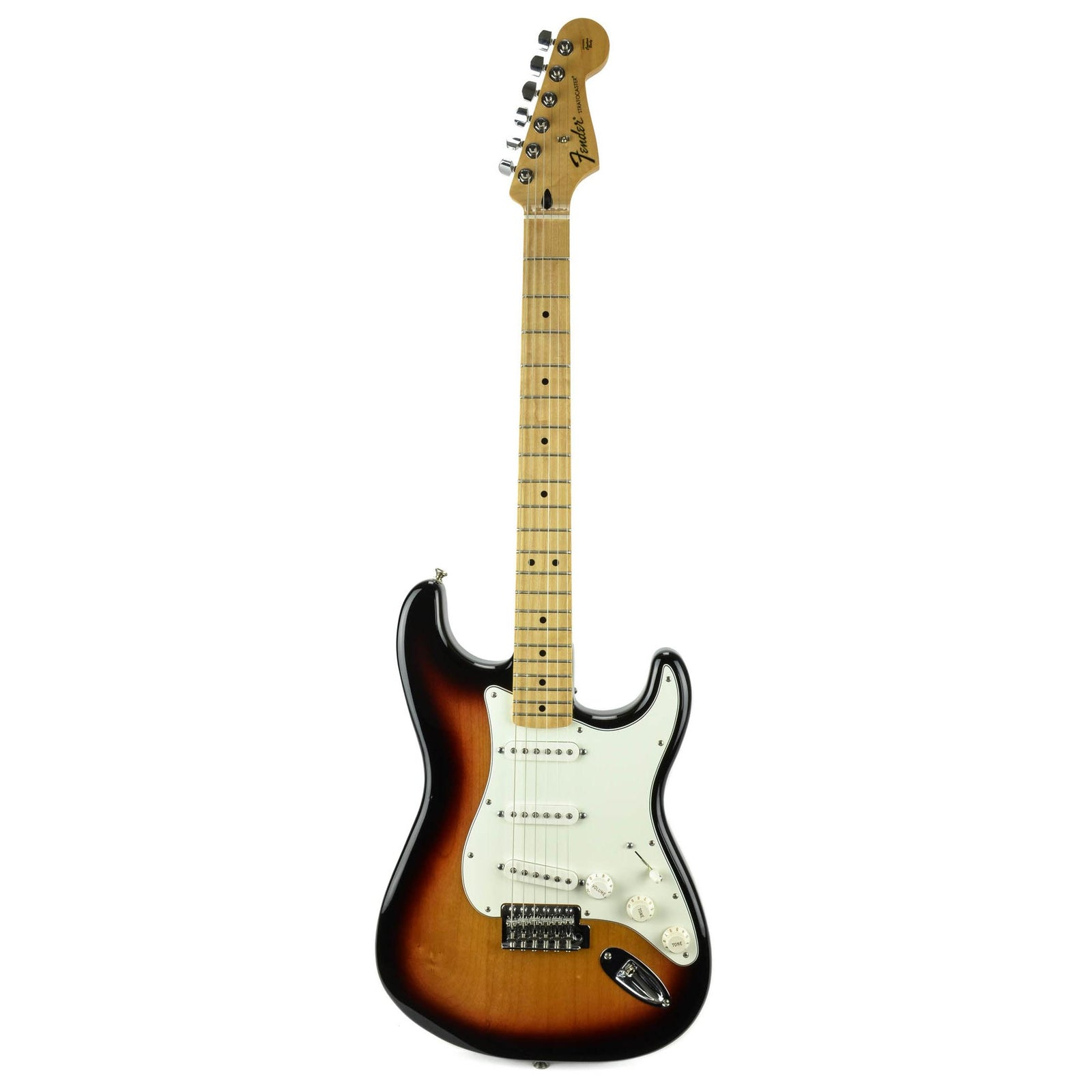 Fender Standard Stratocaster - Maple Fingerboard - Brown Sunburst - Used - Image: 3