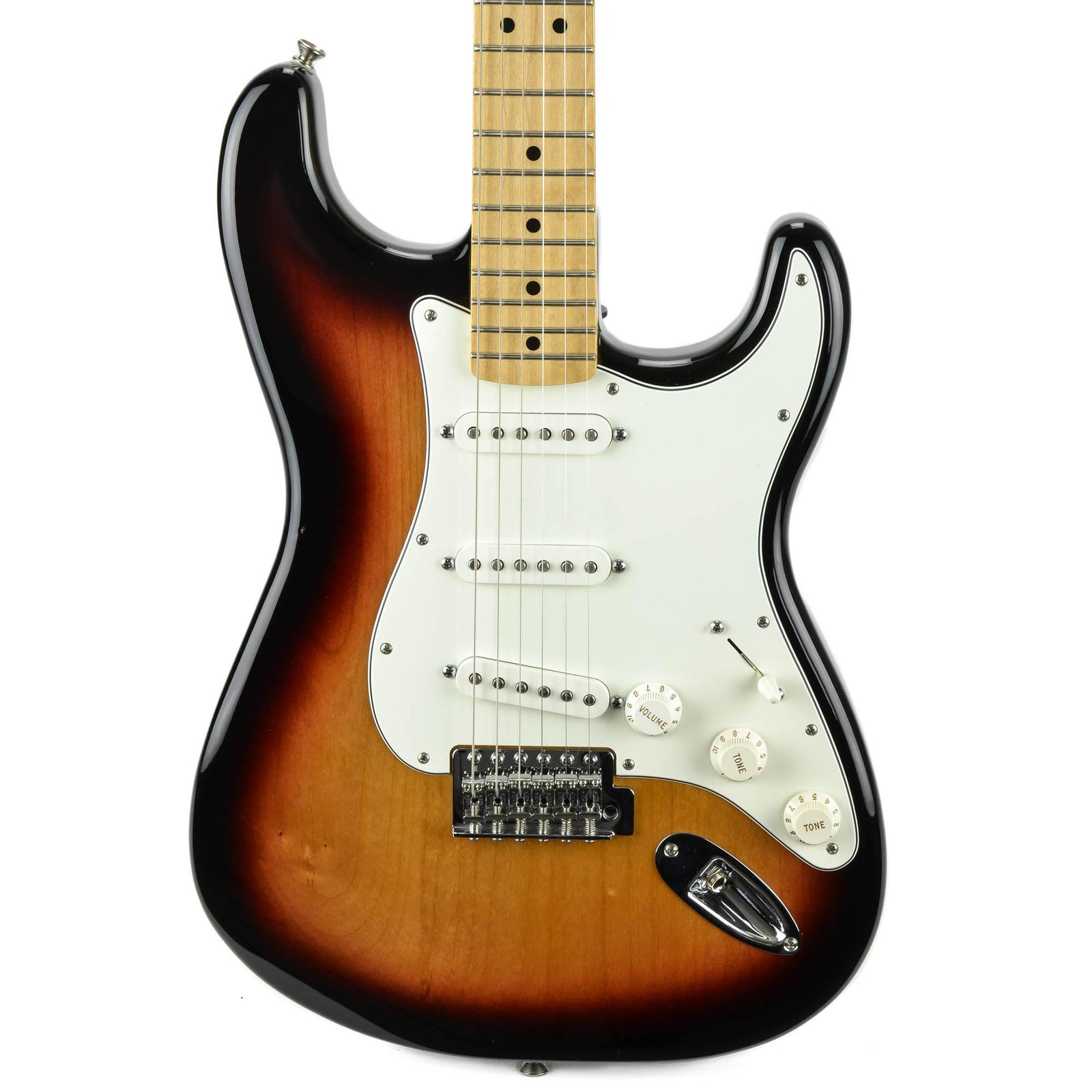 Fender Standard Stratocaster - Maple Fingerboard - Brown Sunburst - Used - Image: 1