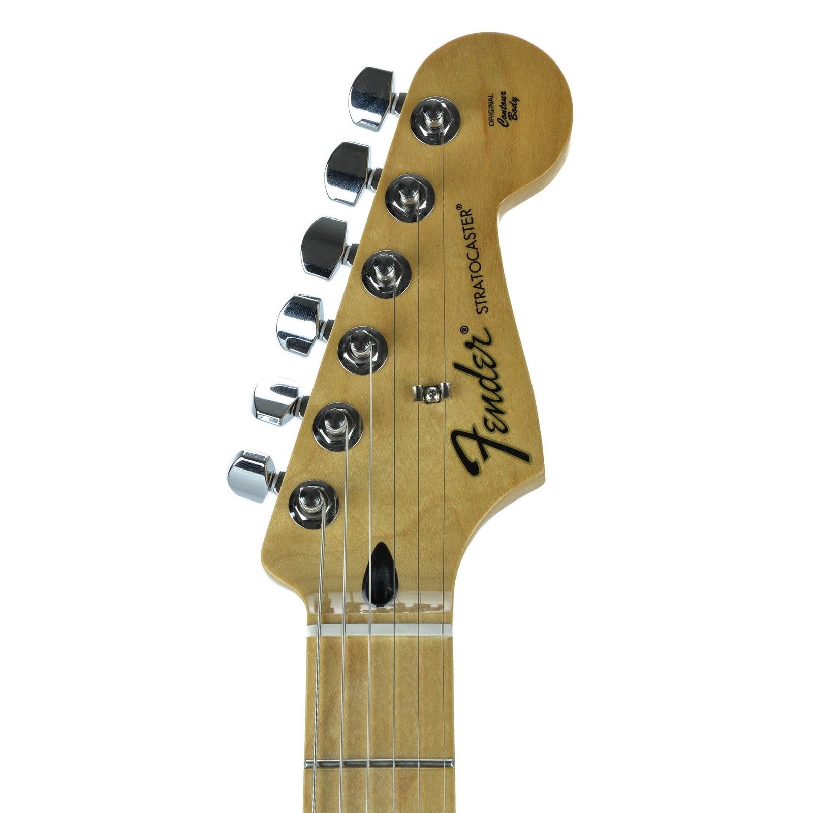 Fender Standard Stratocaster - Maple Fingerboard - Brown Sunburst - Used - Image: 5