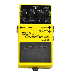 Boss Dual Overdrive SD-2 - Used