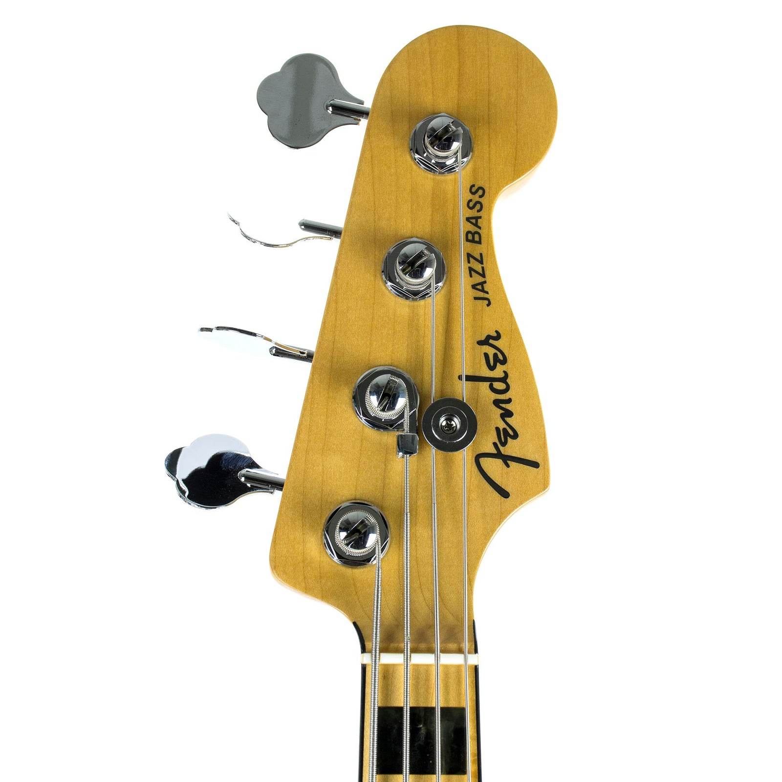 Fender American Elite Jazz Bass - Maple Fingerboard - Black - Used