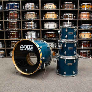Ayotte 1990's 4-Piece kit, Satin Blue - Used