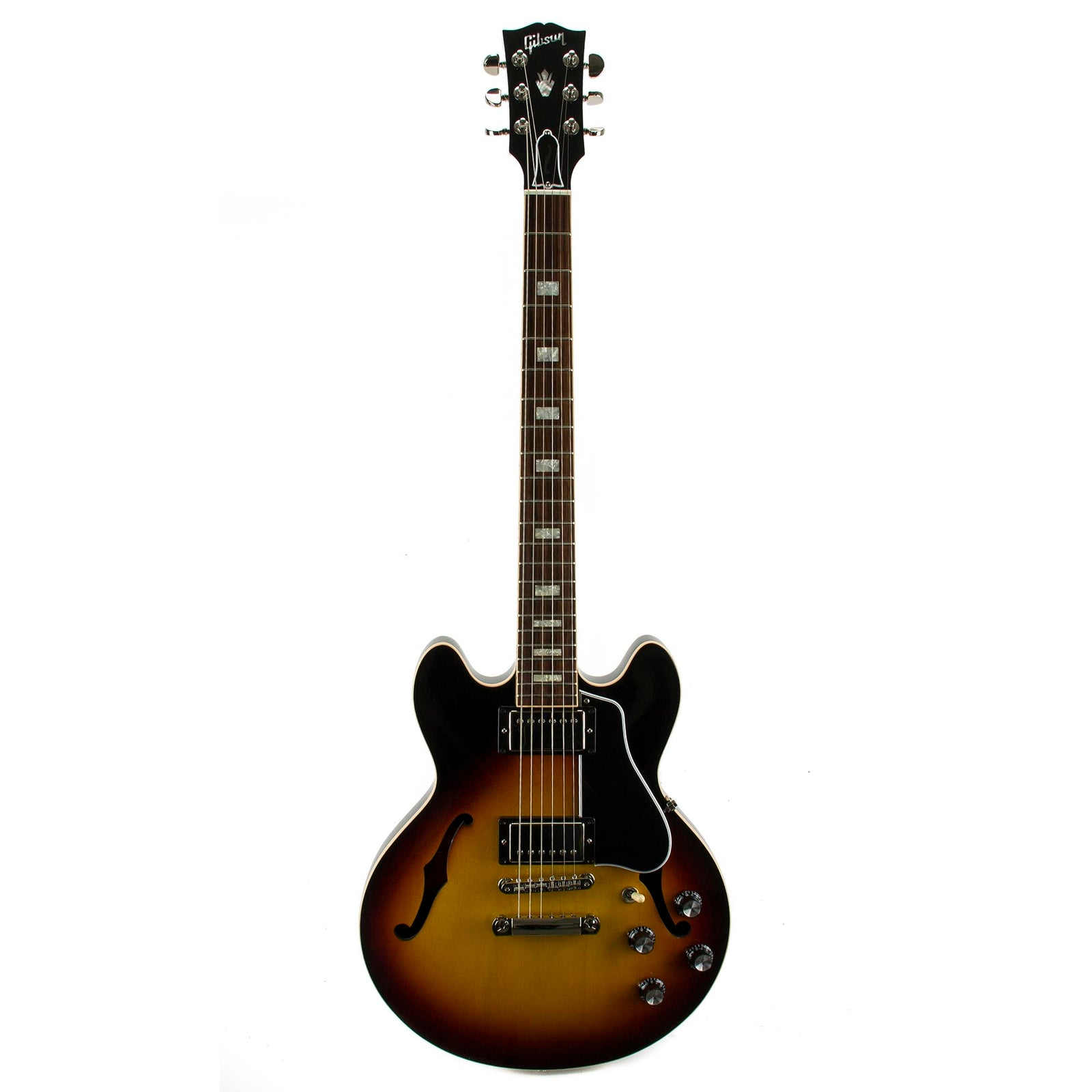 Gibson 2015 Memphis ES-339 Semi-Hollow Electric Guitar- Sunset Burst - Used