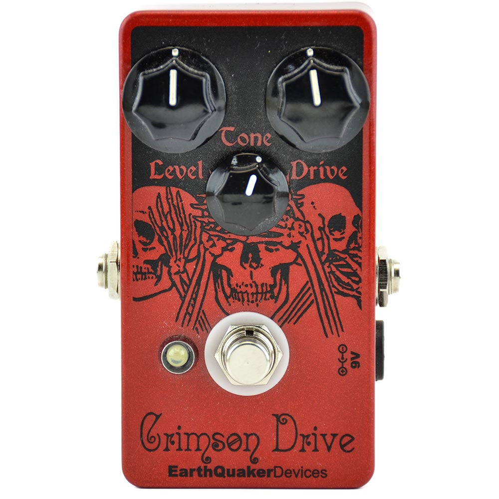 Earthquaker Crimson Drive Germanium Overdrive - Used - Image: 1