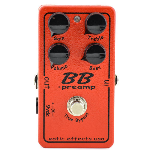 Xotic BB Preamp Guitar Boost Pedal
