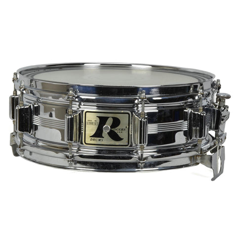 "Pearl 5x14"" Sensitone Snare - Beaded Brass - Black Nickel Plated"