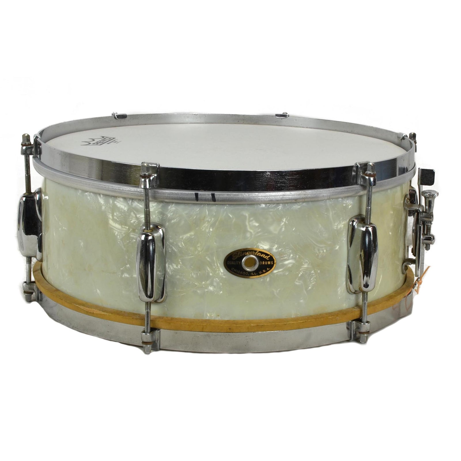 Slingerland Radio King Kit - White Marine Pearl - Used
