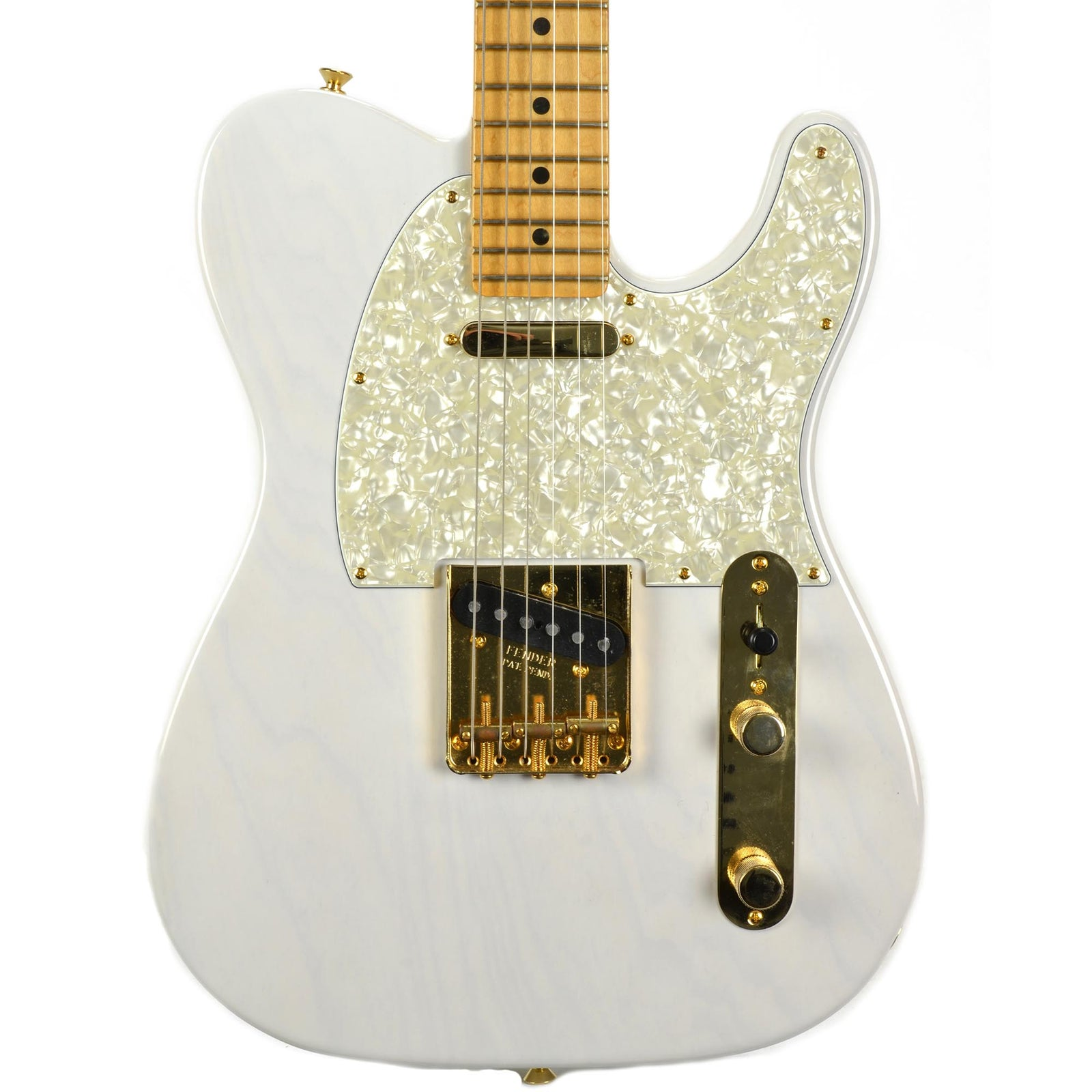 Fender Limited Edition Select Light Ash Telecaster - White Blonde - Used - Image: 1