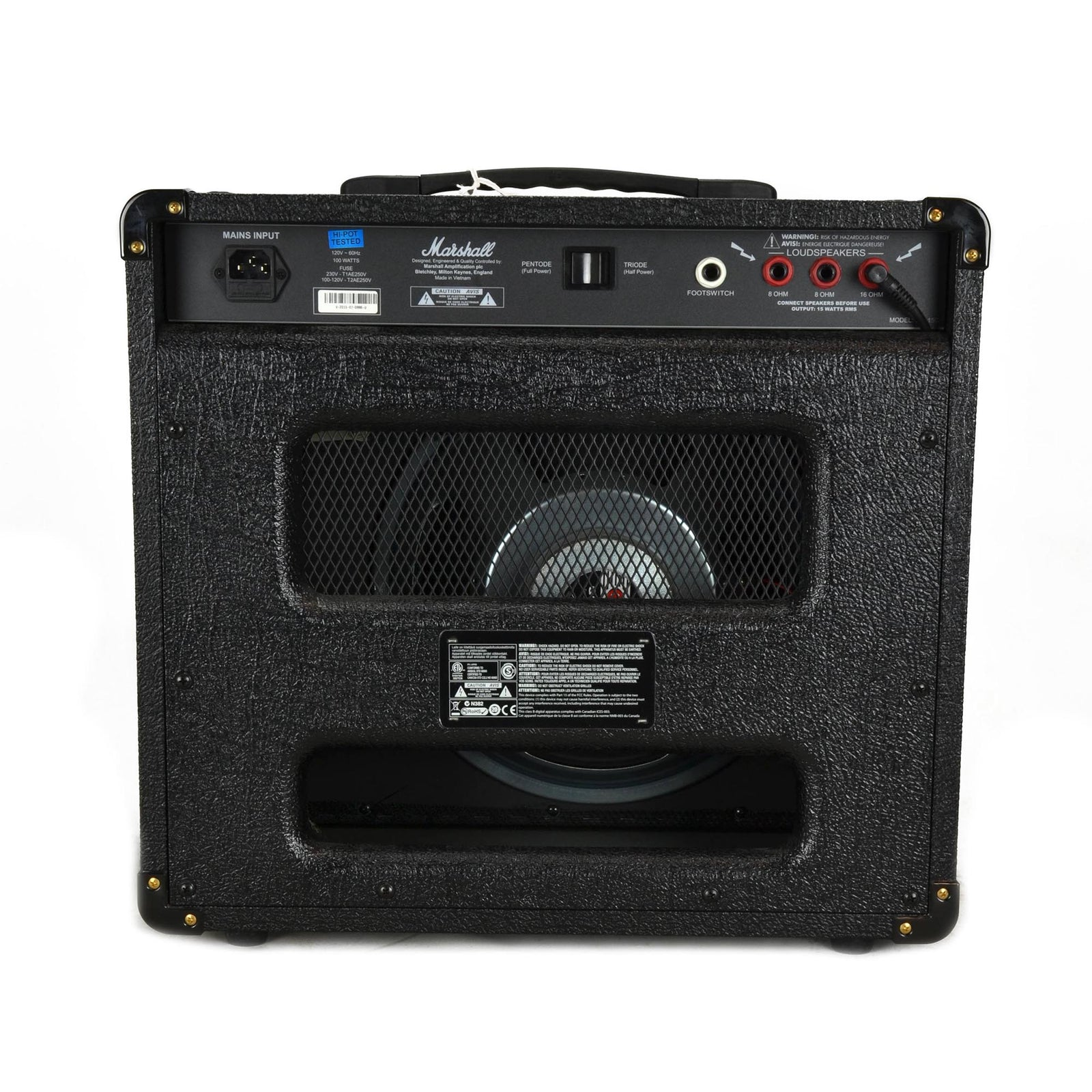 Marshall DSL15C 1x12 Combo - Used