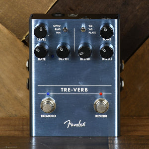 Fender Tre-Verb Tremolo And Reverb Pedal - Used