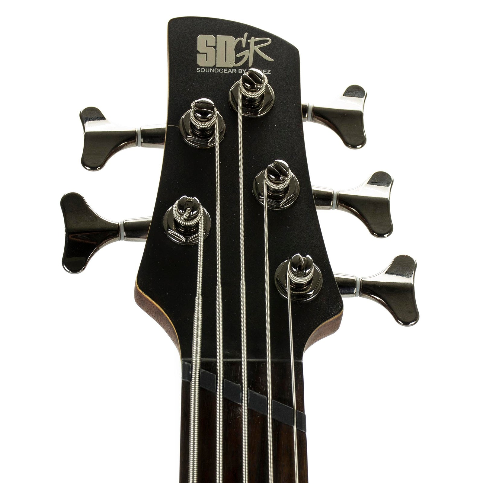Ibanez Bass Workshop Series 5-String Fanned Fret Bass SRFF805 - Walnut Flat - Used - Image: 5