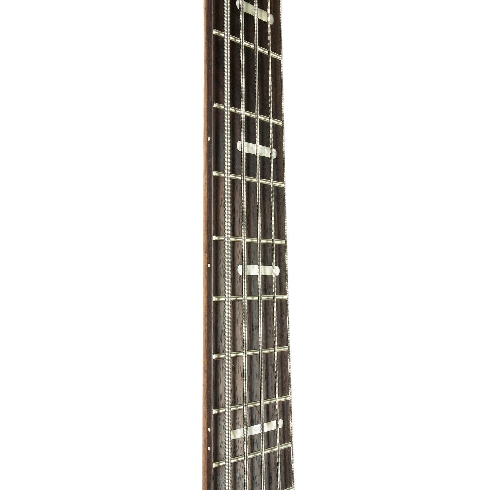 Ibanez Bass Workshop Series 5-String Fanned Fret Bass SRFF805 - Walnut Flat - Used - Image: 7