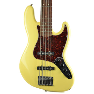 Fender Deluxe Active Jazz Bass V White - Used