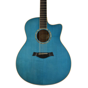 Taylor BTO Custom Grand Orchestra AA Flamed Maple Koi Blue