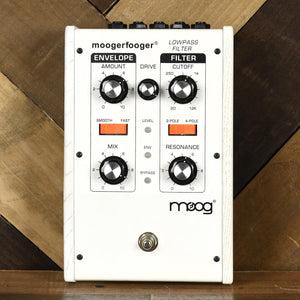Moogerfooger MF-101 Low Pass Filter LTD Ed White With Box - Used