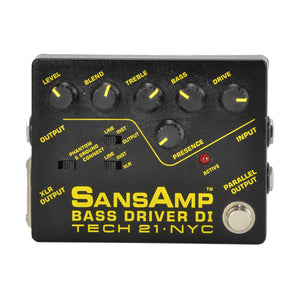 Tech21 Sansamp Bassdriver DI - Used