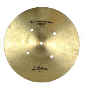 "Zildjian Quick Beat Hi Hat Bottom Only 14"" - Used"