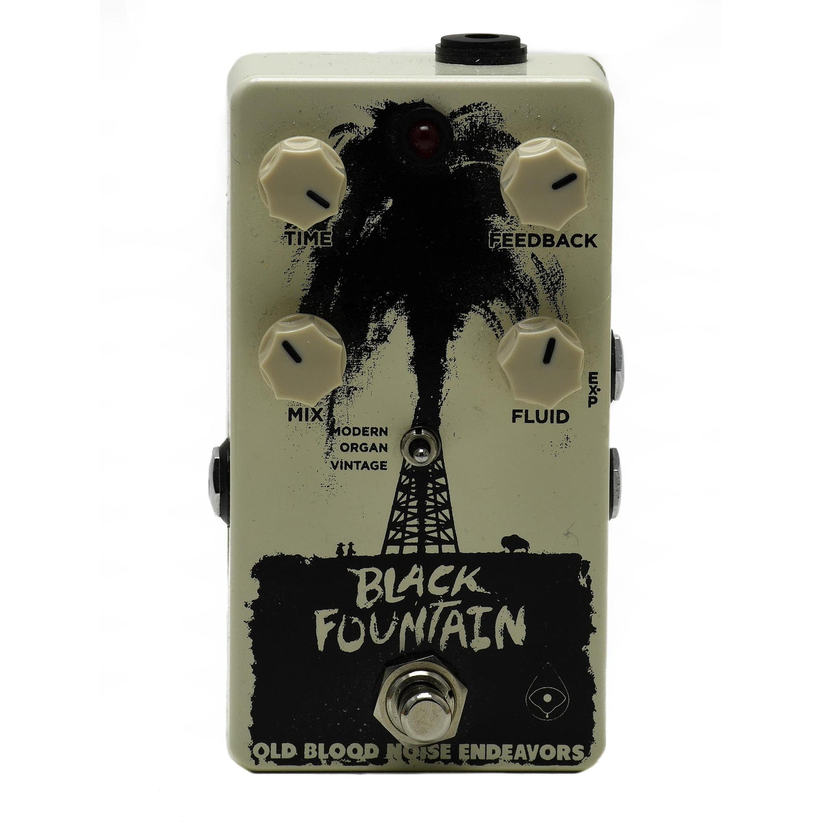 Old Blood Noise Black Fountain Delay V2 - Used