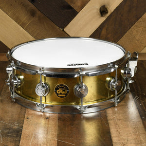 "Drum Workshop 14x5"" Collectors Brass Snare - Used"