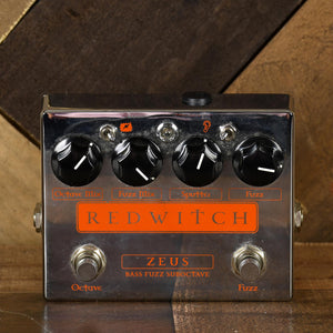 Red Witch Zeus Bass Fuzz - Used