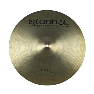 "Istanbul 17"" Agop Traditional Thin Crash - Used"