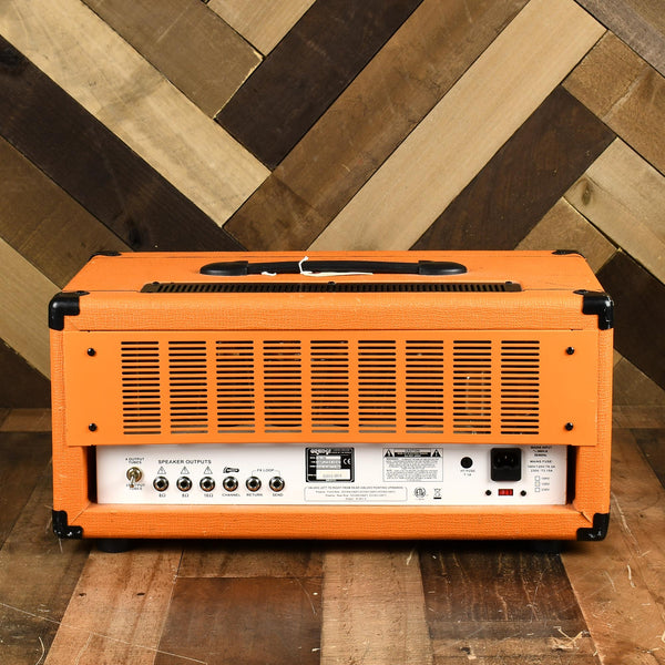 orange th100h twin channel head used russo music. Black Bedroom Furniture Sets. Home Design Ideas