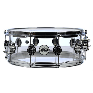 Drum Workshop 14x5.5 Inch Acrylic Design Snare - Used