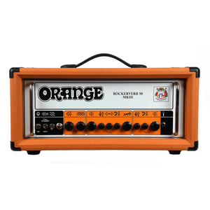 Orange Rockerverb 50 MkIII Head With Slip Cover - Used