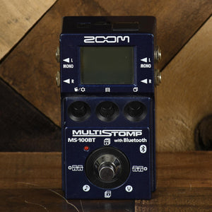Zoom MS100BT Multi Effect With Bluetooth - Used