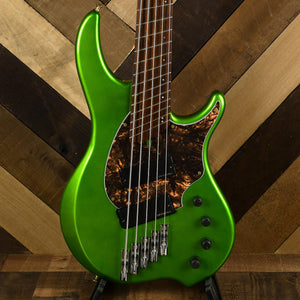 Dingwall Combustion 5 String Green With GB - Used