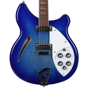 Rickenbacker 2007 360 12 String Blueburst With OHSC - Used