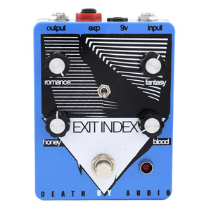 Death By Audio Exit Index Tremolo/Overdrive - Used