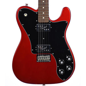 Fender American Pro Telecaster Deluxe Shawbucker, Rosewood, Candy Apple Red - Used