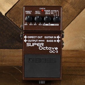 Boss Super Octave OC3 - Used