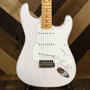 Fender American Original '50s Stratocaster, Maple Fingerboard, White Blonde - Used