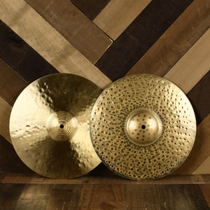 "Paiste 14"" Signature Traditionals Med-Light Hi Hats - Used"