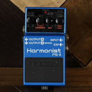 Boss PS-6 Harmonist Pedal - Used