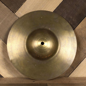 "Ludwig 1920's 10"" Deep Cup Brass ""Sock"" Cymbal - Used"