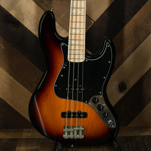 Fender American Original '70s Jazz Bass Maple, 3 Color Sunburst - Used