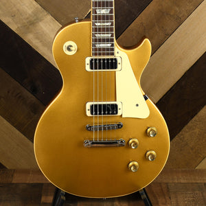 Gibson 1975 Les Paul Deluxe Gold Top With OHSC - Used