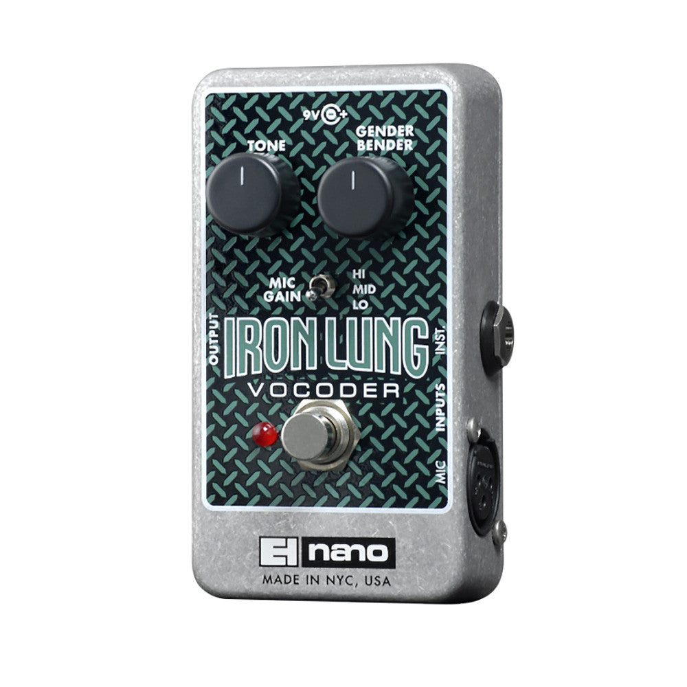 Electro Harmonix Iron Lung Vocoder 9.6DC-200 PSU Included