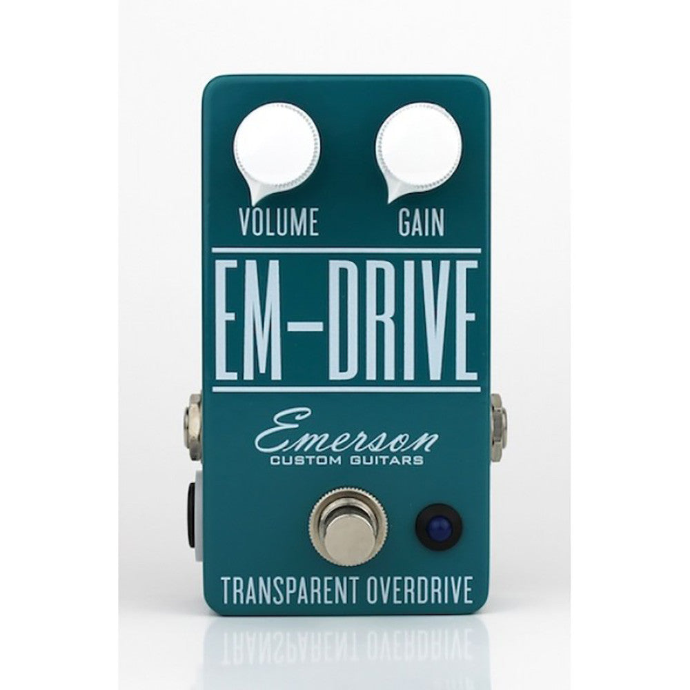 Emerson Custom Em-Drive Transparent Overdrive Pedal